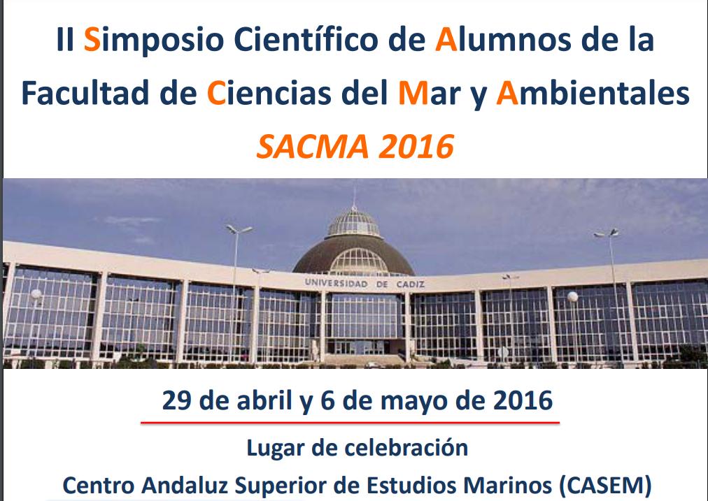 II SIMPOSIO de Estudios Cientificos de la Facultad de Ciencias del Mar y Ambientales