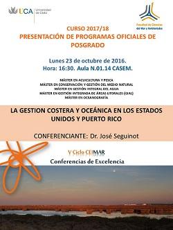 PRESENTACIÓN DE PROGRAMAS OFICIALES DE POSGRADO CURSO 2017-18