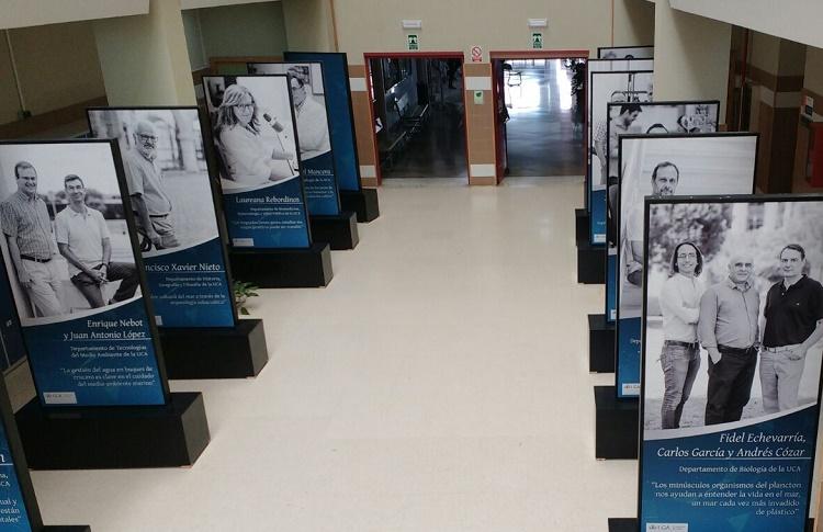 Exposición Rostros de la Ciencia