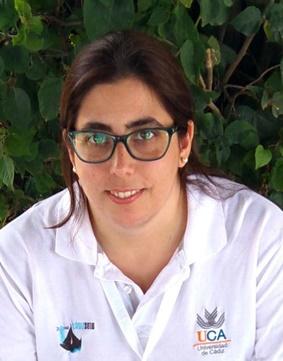 La estudiante de la UCA Belén Herce Sesa ganadora del II Certamen del Instituto Universitario del Agua y del Medioambiente de la Universidad de Murcia al mejor TFM
