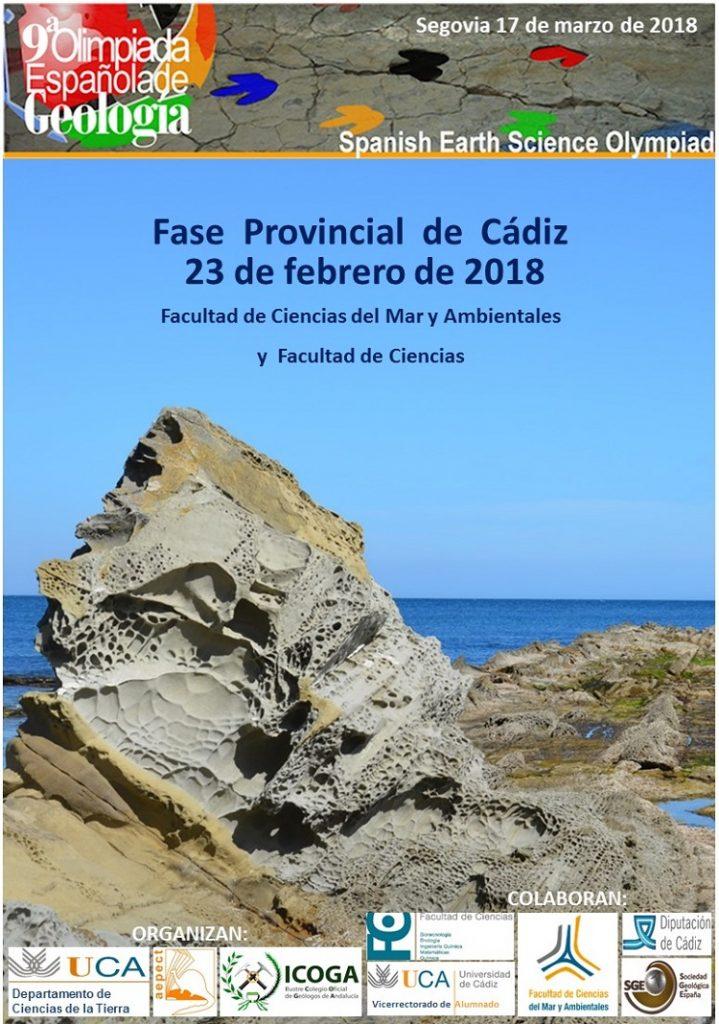 Olimpiadas Geológicas 9ª Edición