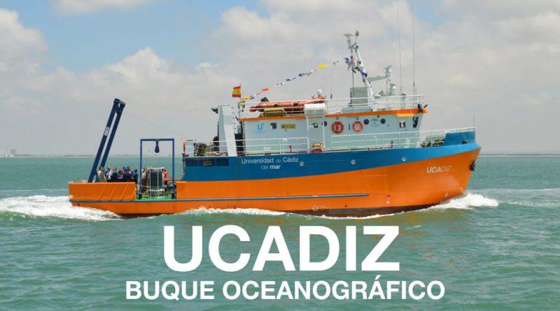 Los alumnos del Máster en Oceanografía en el buque oceanográfico UCAdiz en el programa de Canal Sur Tierra y Mar