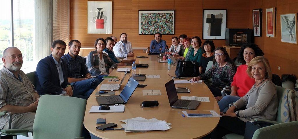 Reunión de la Conferencia Española de Decanos en Ciencias Ambientales (25/10/2019)