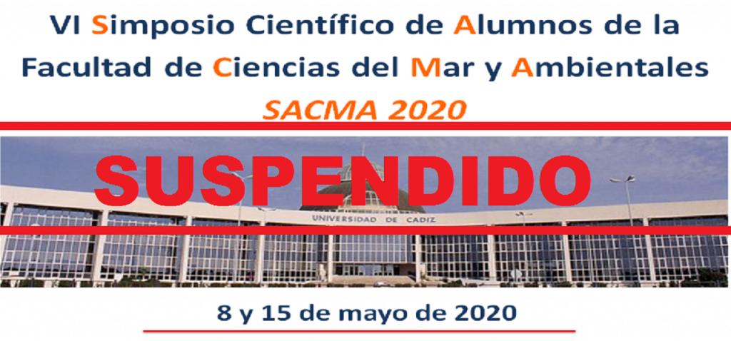 Consecuencia de la crisis del coronavirus, se suspende el SACMA 2020