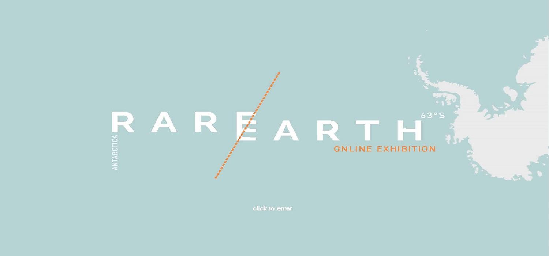 Exhibición RareEarth- Antarctica. Interesante trabajo realizado por uno de nuestros egresados, Alejandro Román González.